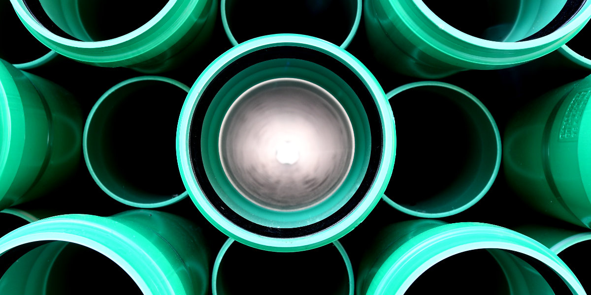 Licht am Ende des Rohres
